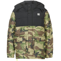 material Men Duffel coats DC Shoes STRAFFEN Black / Camo