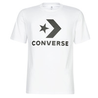 material Men short-sleeved t-shirts Converse STAR CHEVRON White