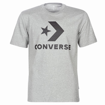 material Men short-sleeved t-shirts Converse STAR CHEVRON Grey
