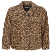 material Women Blouses See U Soon 9262153 Leopard