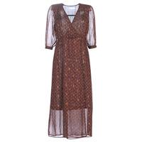 material Women Long Dresses See U Soon 9221839 Black / Red