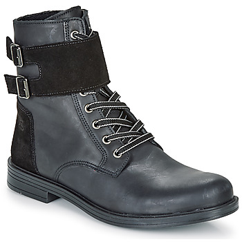 Shoes Girl Mid boots Citrouille et Compagnie LOMENE Black