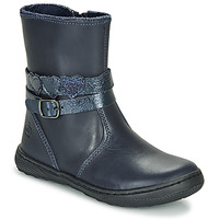 Shoes Girl Mid boots Citrouille et Compagnie LOMINE Blue