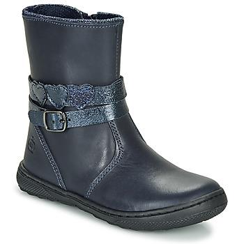 Shoes Girl Mid boots Citrouille et Compagnie LOMINE Blue