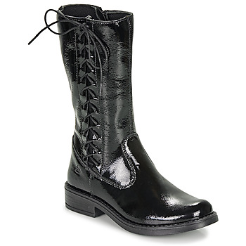 Shoes Girl Boots Citrouille et Compagnie LAMINOTE Black