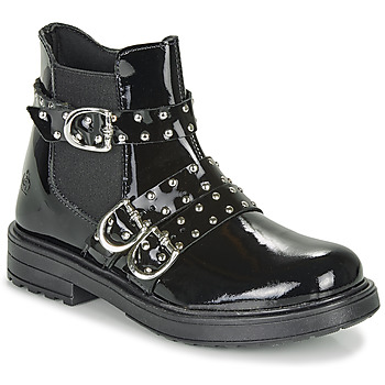 Shoes Girl Mid boots Citrouille et Compagnie LIRONDEL Black