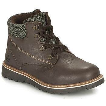 Shoes Boy Mid boots Citrouille et Compagnie HEFINETTE Brown