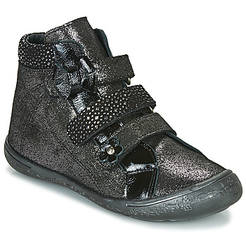 Shoes Girl High top trainers Citrouille et Compagnie HODIL Black