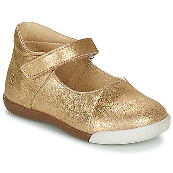 Shoes Girl Ballerinas Citrouille et Compagnie LAKALA Gold