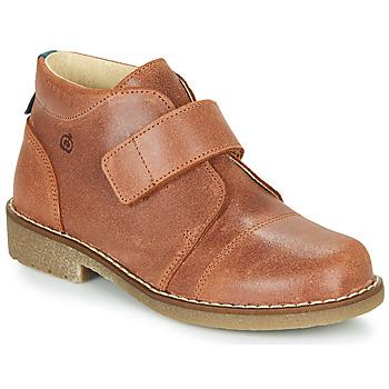 Shoes Boy Mid boots Citrouille et Compagnie LAPUPI Brown