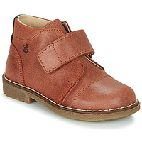 Shoes Boy Mid boots Citrouille et Compagnie LAPUPI Brown