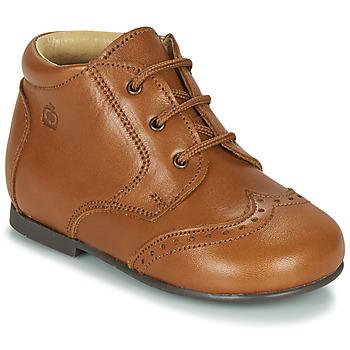 Shoes Children Mid boots Citrouille et Compagnie LIMETTE Camel