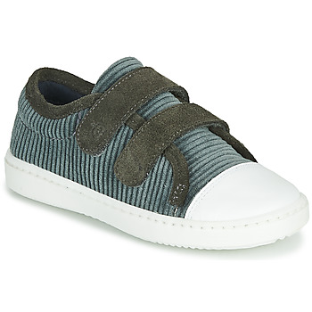Shoes Children Low top trainers Citrouille et Compagnie LILINO Grey