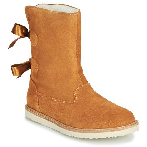 Shoes Girl Mid boots Citrouille et Compagnie LILINA Camel
