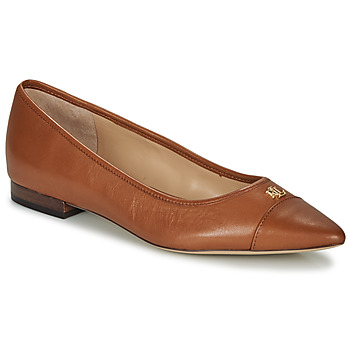 Shoes Women Ballerinas Lauren Ralph Lauren HALENA II Camel