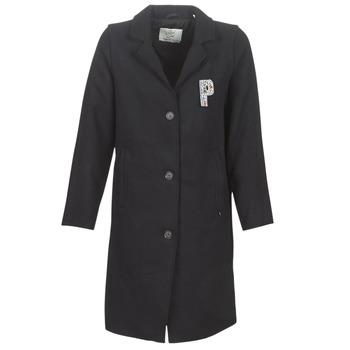 material Women coats Petrol Industries W-3090-JAC029-5097 Marine