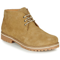 Shoes Men Mid boots So Size RICHARDO Beige