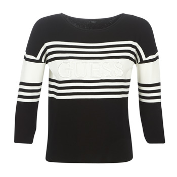 material Women jumpers Guess VIOLANTE Black / White