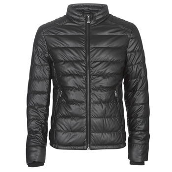 material Men Leather jackets / Imitation leather Guess STRETCH PU QUILTED Black