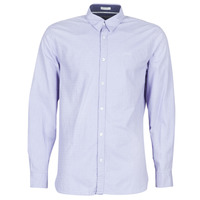 material Men long-sleeved shirts Guess COLLINS Blue
