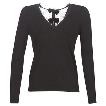 material Women jumpers Naf Naf MITOU LONG NEW Black