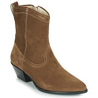 Shoes Women Ankle boots Vagabond EMILY Taupe