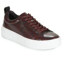 Shoes Women Low top trainers Vagabond ZOE PLATFORM Bordeaux