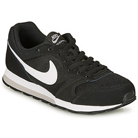 Shoes Boy Low top trainers Nike MD RUNNER 2 GRADE SCHOOL Black / White