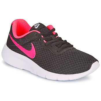 Shoes Children Low top trainers Nike TANJUN GRADE SCHOOL Black / Pink