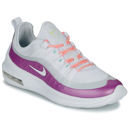 Dardos vaso Convocar  Nike AIR MAX AXIS W White / Violet - Fast delivery | Spartoo ...