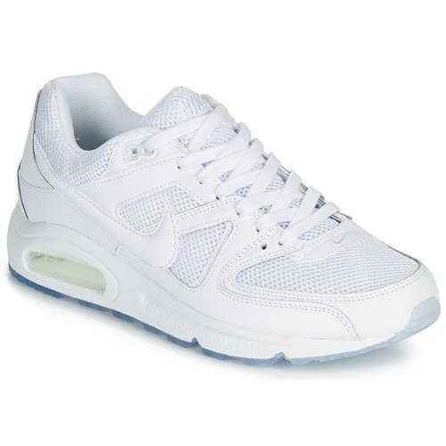 bosque Limpiar el piso puesto  Nike AIR MAX COMMAND White - Fast delivery | Spartoo Europe ...