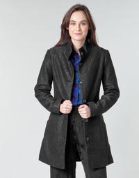 material Women coats Desigual SIMONE Black