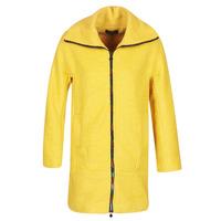 material Women coats Desigual LAND Yellow