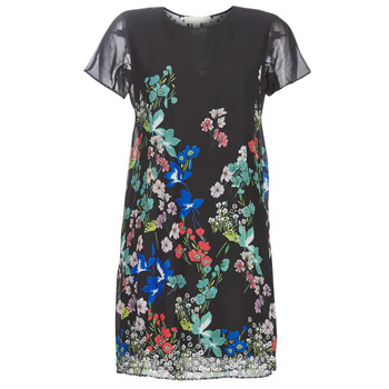 material Women Short Dresses Desigual LORETHA Multicolour
