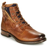 Shoes Men Mid boots Redskins YLMAZ Cognac