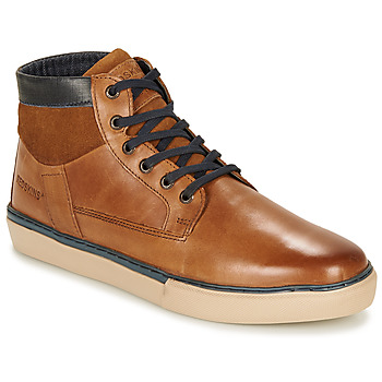 Shoes Men High top trainers Redskins COURNOL Cognac
