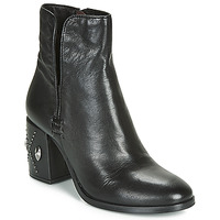 Shoes Women Ankle boots Mjus TWISTER METAL Black