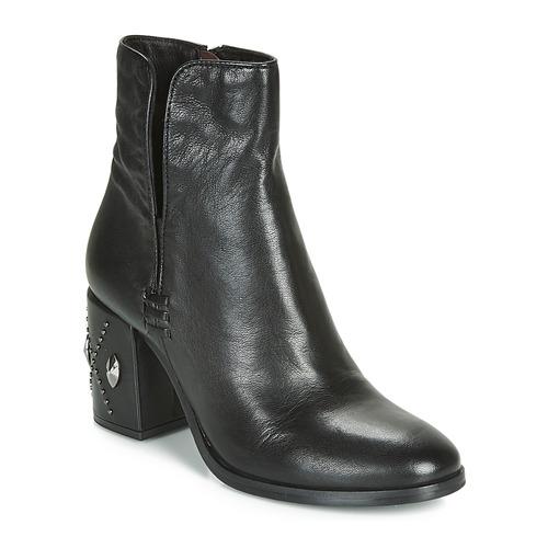 Shoes Women Ankle boots Mjus TWISTER METAL Black