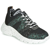 Shoes Women Low top trainers Meline  Black / Green