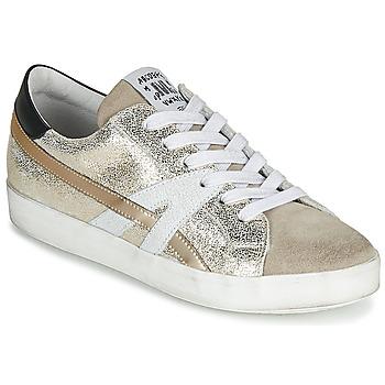 Shoes Women Low top trainers Meline MEL Gold