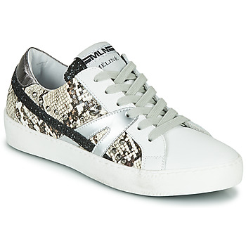Shoes Women Low top trainers Meline  White / Phyton