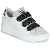 Shoes Women Low top trainers Meline  White / Glitter