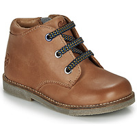 Shoes Children Mid boots Aster SELAS Camel