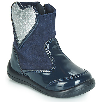 Shoes Girl Mid boots Gioseppo BUCKLAND Blue