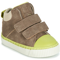 Shoes Boy High top trainers Gioseppo ERDING Brown