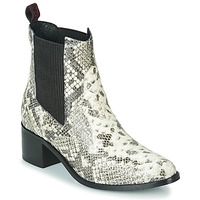 Shoes Women Ankle boots Gioseppo MIKKELI Black / White