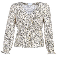 material Women Blouses Betty London LOVA Beige / Black