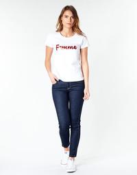 material Women Skinny jeans Lee SCARLETT RINSE Blue