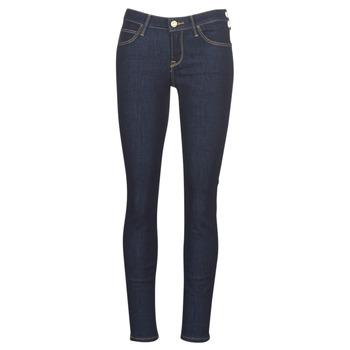 material Women slim jeans Lee SCARLETT RINSE Blue