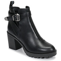 Shoes Women Ankle boots Only BARBARA HEELED Black